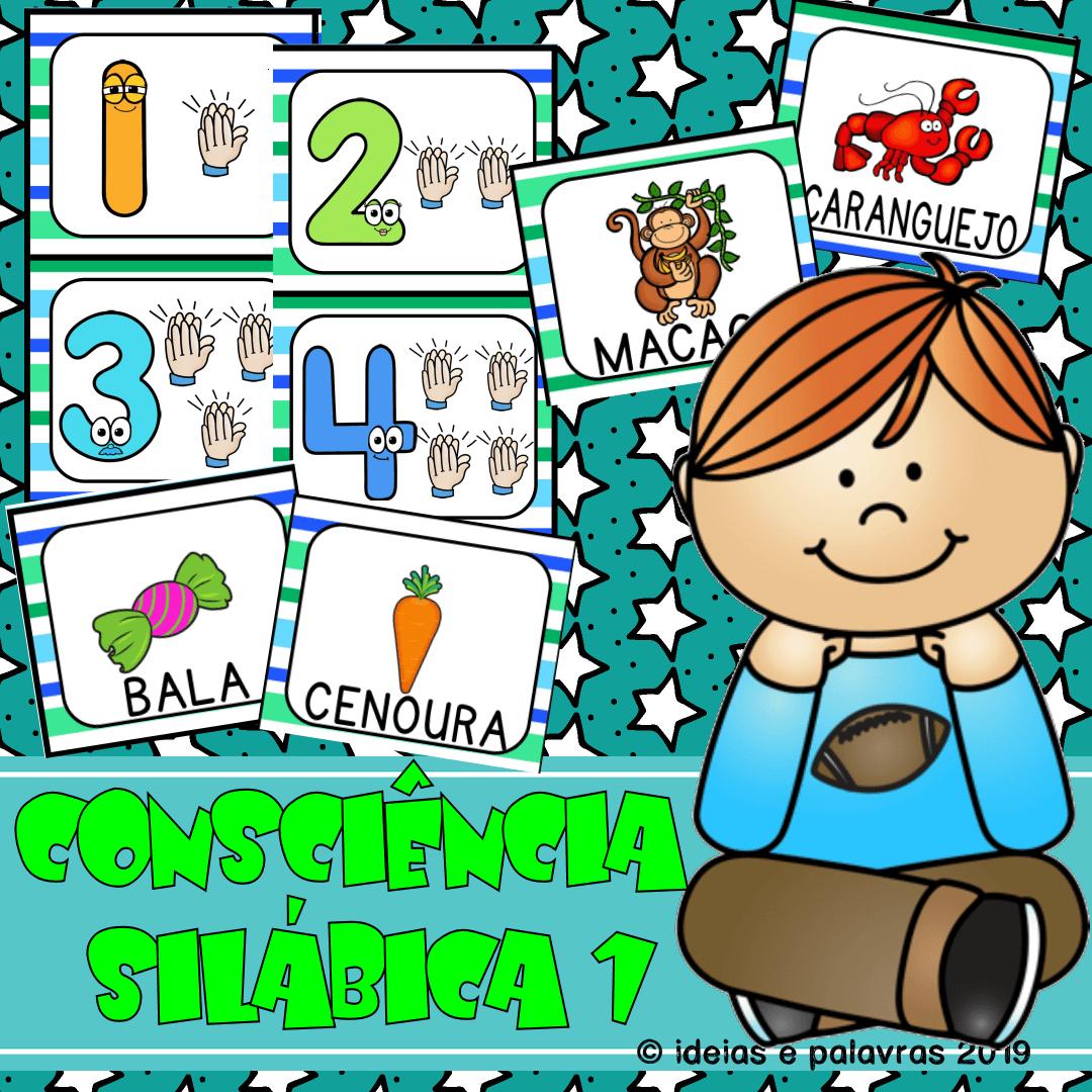 consciencia silabica atividade de alfabetizacao ideiasepalavras.com.br